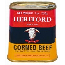 Corned beef blik hereford 340 gram