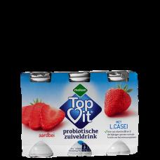 Topvit (6) kleine flesjes  aardbei