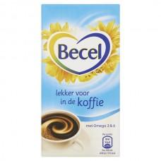 Becel koffiemelk pakje
