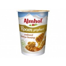 Almhof Roomyoghurt walnoot honing 500 ml